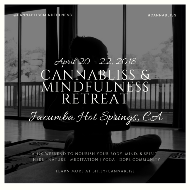 Weed Chat Yoga With Minelli HeyHelloHigh CannaBliss Retreat