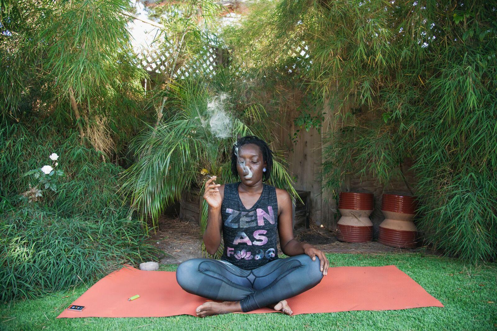Weed Chat Yoga With Minelli HeyHelloHigh
