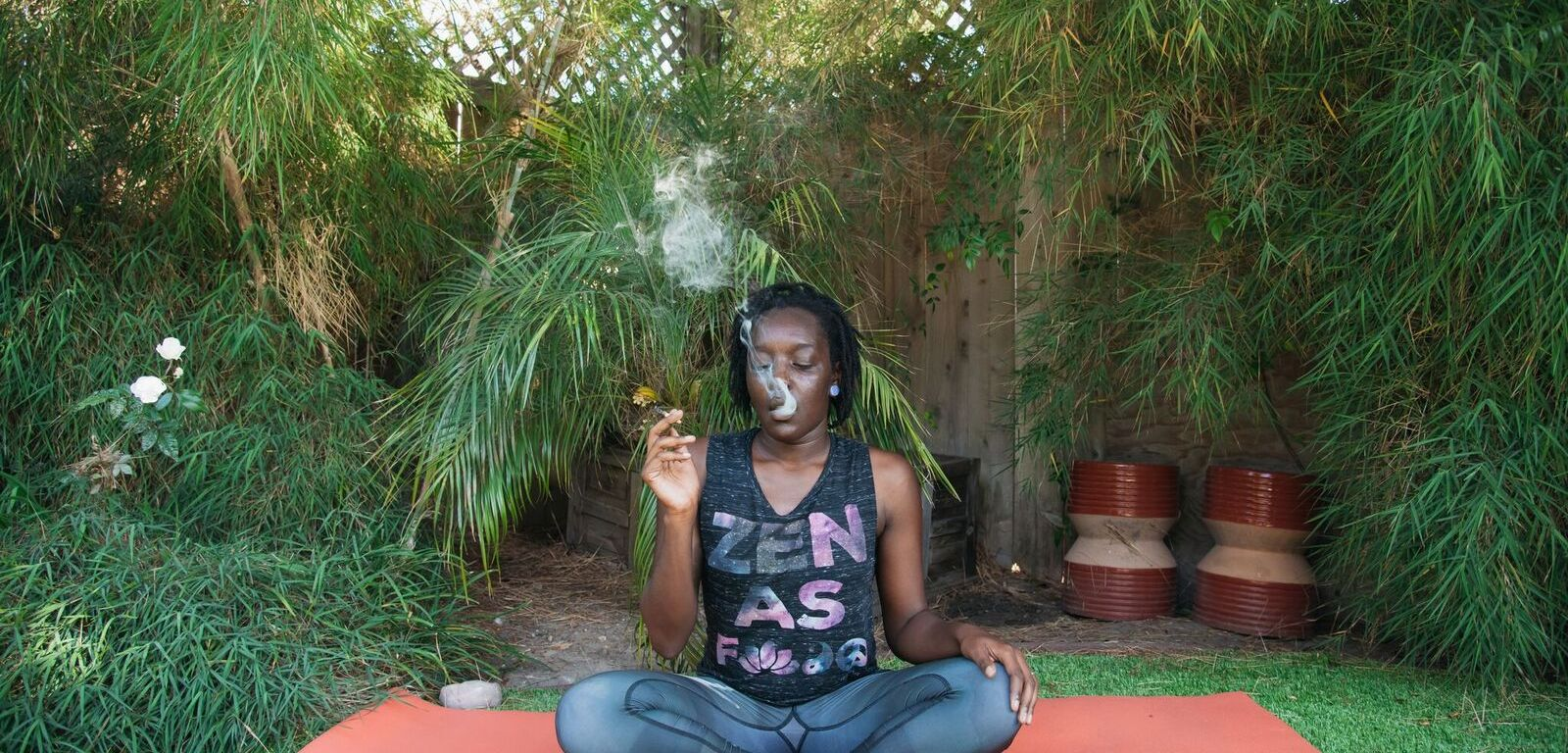 Weed Chat Yoga With Minelli HeyHelloHigh