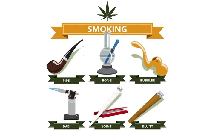 Ways To Smoke Cannabis Flower - HeyHelloHigh