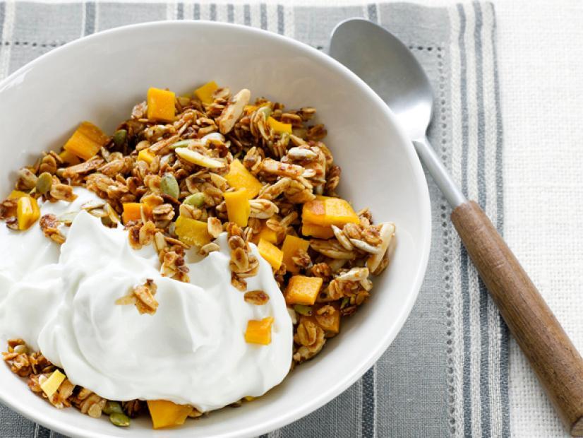 JustCBD Mango Granola Yogurt Bowl - HeyHelloHigh