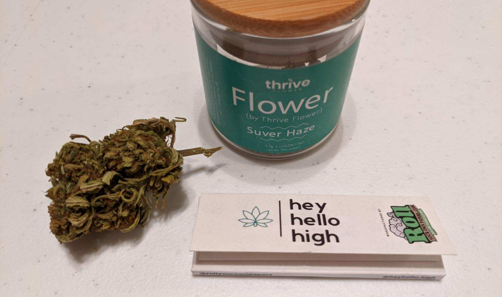 HeyHelloHigh - Thrive Flower CBD review